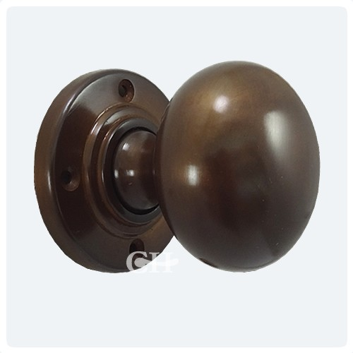 Croft 6400 Bun Mortice Door Knobs In Brass Bronze Chrome
