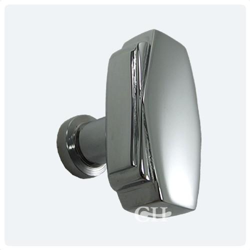 Croft 7006 Art Deco Cupboard Door Knobs In Chrome Or