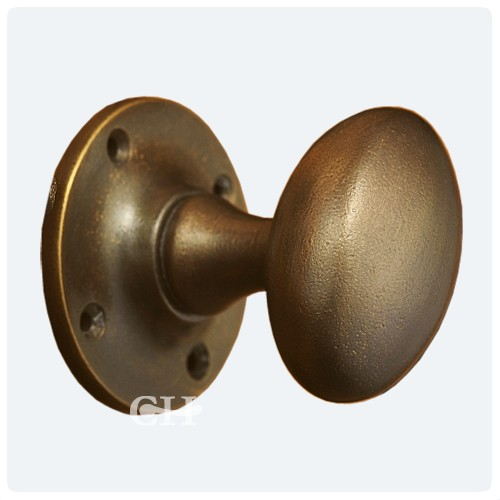 Croft 1754 Oval Mortice Door Knobs in Brass Bronze Chrome or Nickel ...