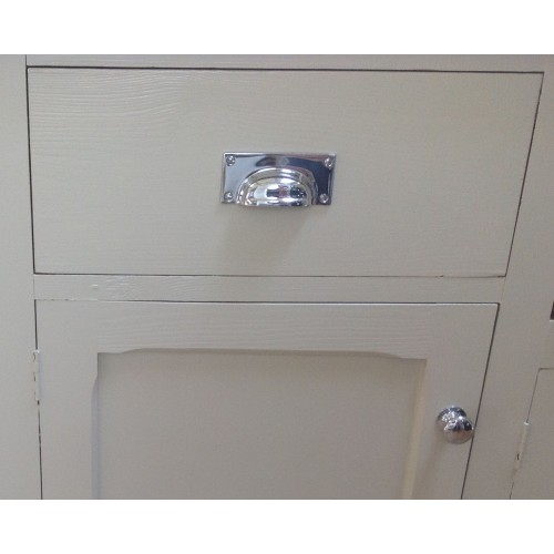 Polished Chrome Cupboard Knobs With 1823 Cup Handles ...
