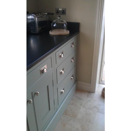 Brushed Nickel Kitchen Door Handles