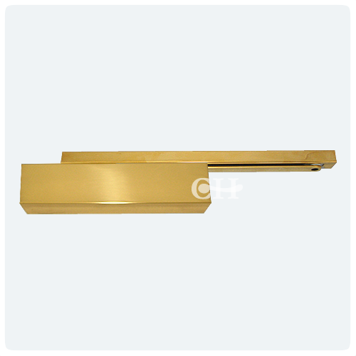 Dorma Ts93 Pb Door Closers Polished Brass Cam Action Track