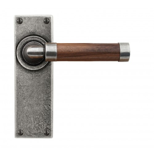 Finesse design pewter fd139 fd140 milton lever door - Wooden door handles designs ...