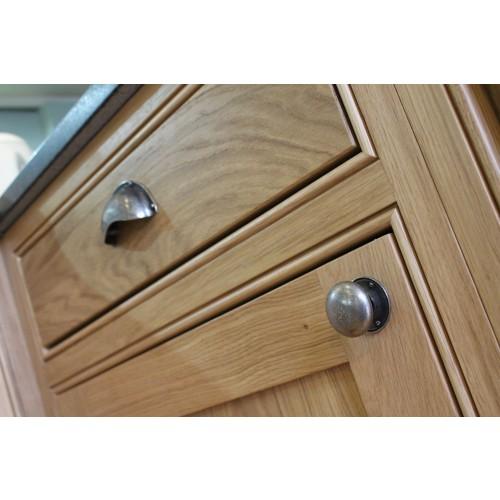 Finesse pck036 pewter cabinet door knobs from cheshire hardware door handles door - Kichen door handles ...