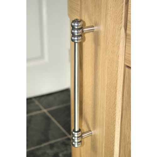 Finesse Heaton Pewter Cabinet Door Pull Handles BH001