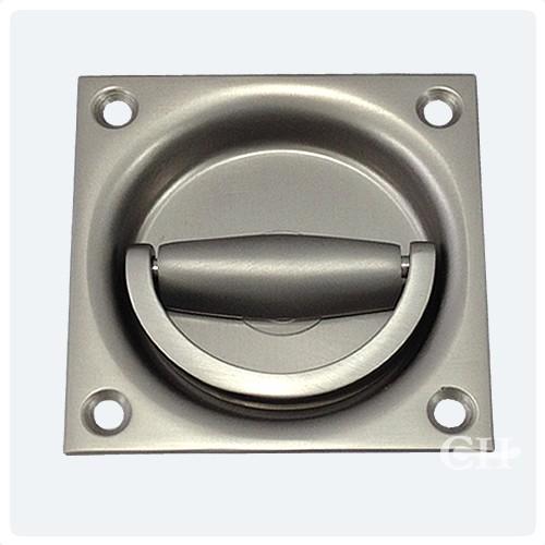 Flush Ring Door Handles In Stainless Steel Aluminium Or