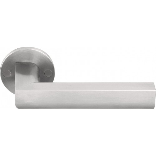 Formani Two Pbl22 Pbl23 Stainless Steel Oak Wood Door Handles On