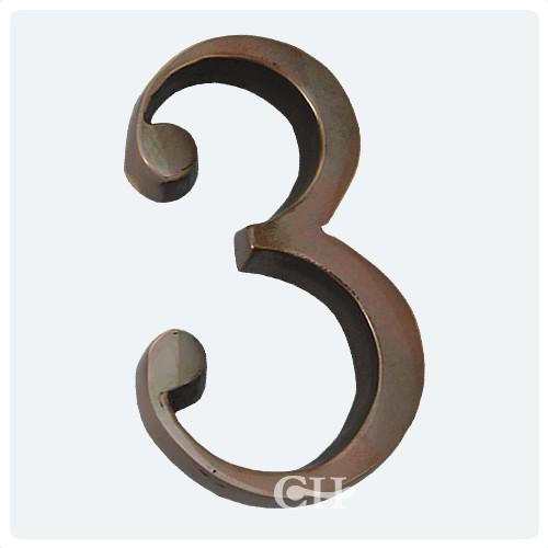 Polished Solid Bronze Antiqued & Door Numerals Brass Bronze Chrome or Nickel | Door handles u0026 door ...