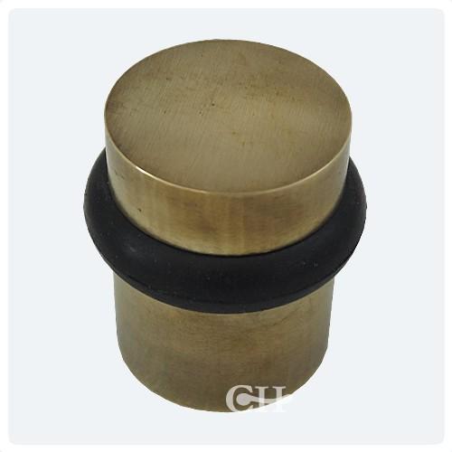 Antique Brass · Satin Brass - British Handmade Floor Door Stops In Nickel Chrome Brass Or Bronze