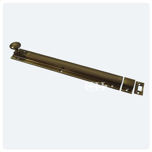 antique brass unlaquered door bolts ... - British Handmade Heavy Door Bolts In Nickel Chrome Brass Or Bronze