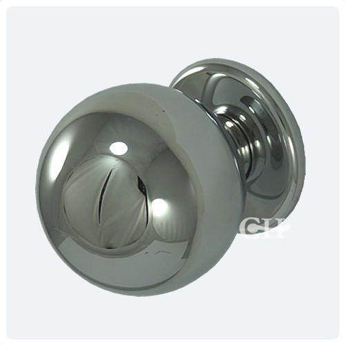 Gentil Polished Chrome Door Knobs