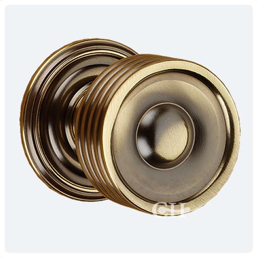 Frank Allart 7665 Reeded Mortice Door Knobs in Nickel Chrome Brass ...