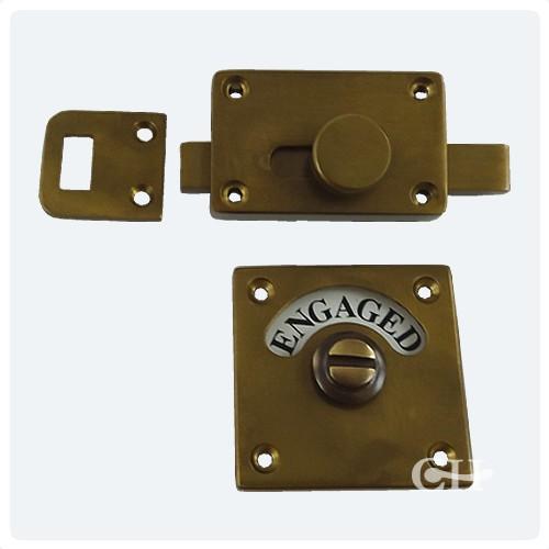British Handmade Indicator Bolts In Nickel Chrome Brass Or Bronze