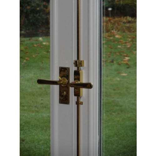 British Handmade Espagnolette Bolts For French Doors In Brass Bronze
