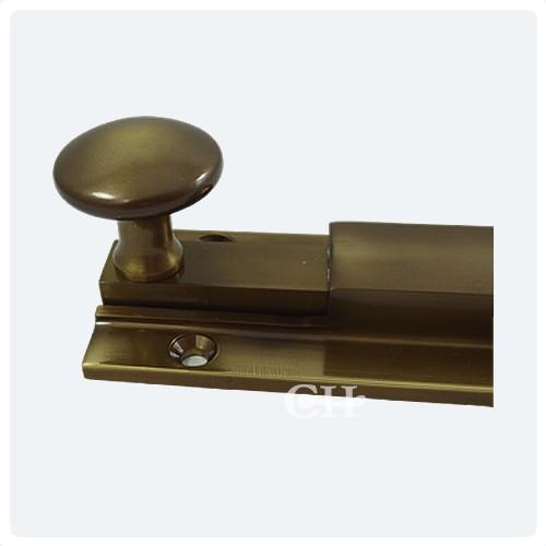 Antique Brass Unlaquered ... - British Handmade Heavy Door Bolts In Nickel Chrome Brass Or Bronze
