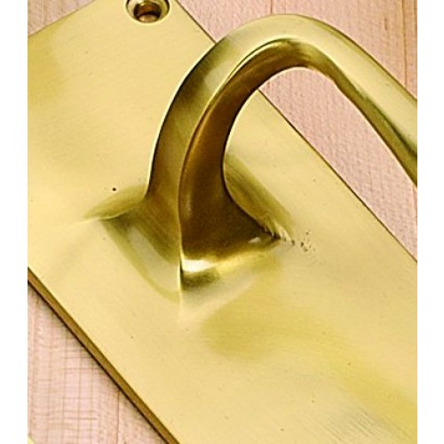 Frank Allart 3034 Bun Mortice Door Knobs in Brass Bronze Chrome or