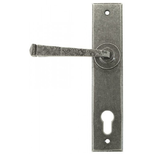 From The Anvil 33704 Pewter 92mm Espagnolette Multipoint
