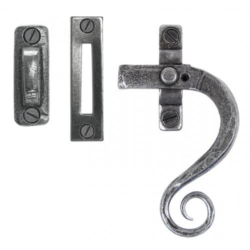 Pewter Shepherds Crook Fastener Rh Locking: From The Anvil 33726 Monkey Tail Casement Window Fasteners