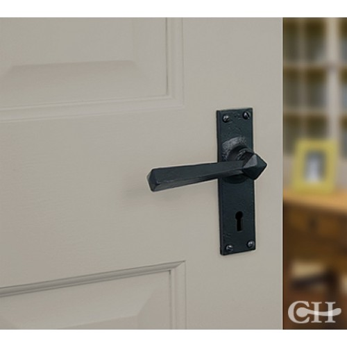 From The Anvil 73109 Straight Lever Handles On Keyhole