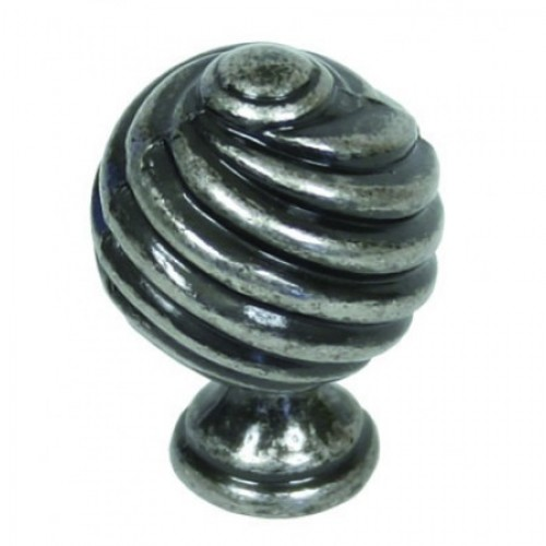 From The Anvil 33691 30mm Twist Pewter Cupboard Knobs From