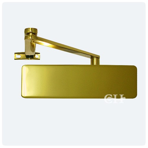 Geze Ts2000 Overhead Door Closers Polished Brass Pb From