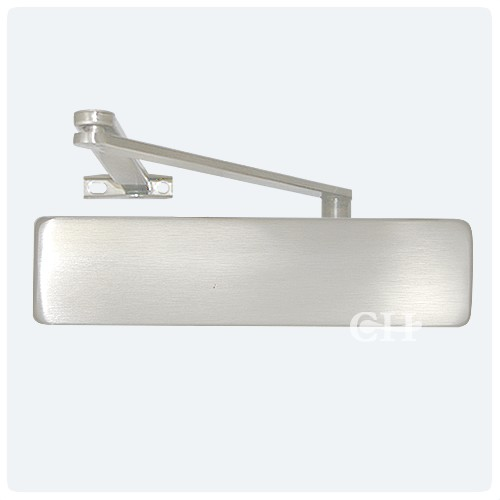 Geze Ts4000 Overhead Door Closers With Backcheck Silver Or