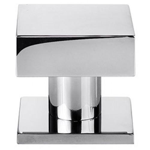 Henry Blake Art Deco Square Cupboard Knobs In Brass Bronze