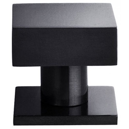 square black cabinet knobs. Dark Bronze 40mm Square Black Cabinet Knobs R