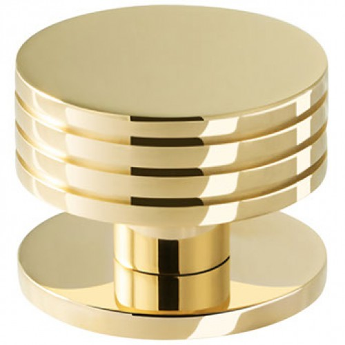 Henry Blake Art Deco Large Ringed Shower Door Knobs in Brass Bronze ...