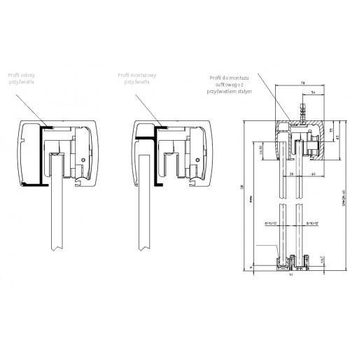 Glass Sliding Door Gear Geze Levolan Track System Commercial Or