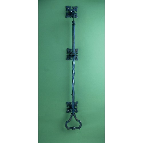 Lichfield Gothic Door Bell Pulls in Black Wrought Iron Finish ...