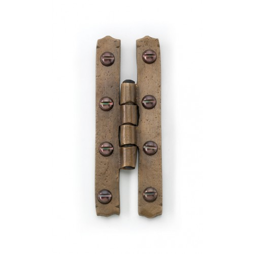 Louis Fraser 504 H Hinges In Bronze Black Or Pewter From