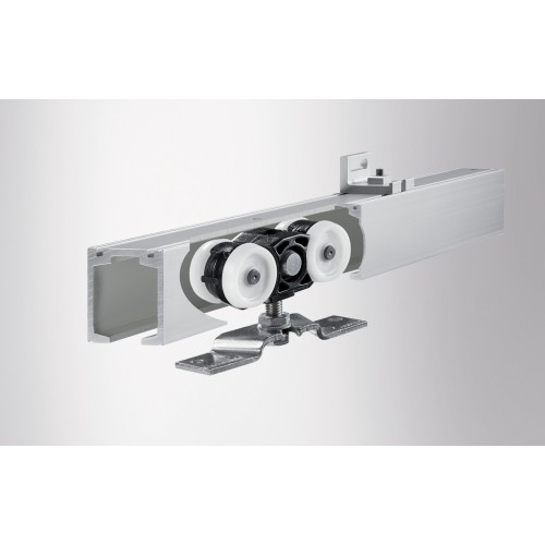 Geze Perlan Track System For Glass Timber Or Plastic