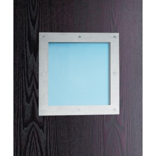 Philip watts ssq1 square port holes or vision panels in for Door vision panel