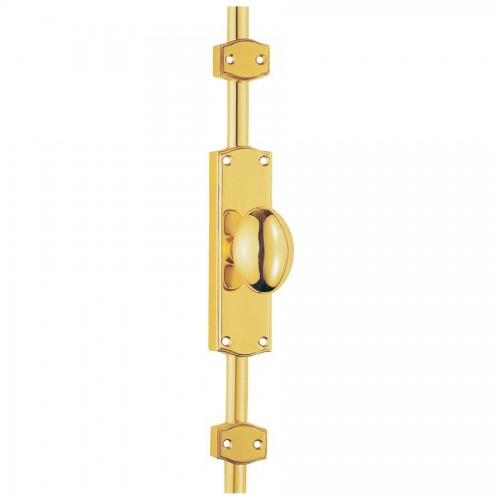 Es34 Espagnolette Bolts For French Doors In Brass Or