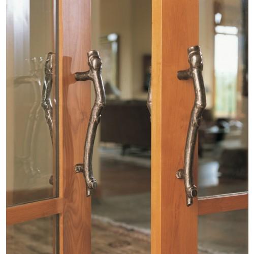 Rocky Mountain Branch Grip Door Pull Handles In Bronze