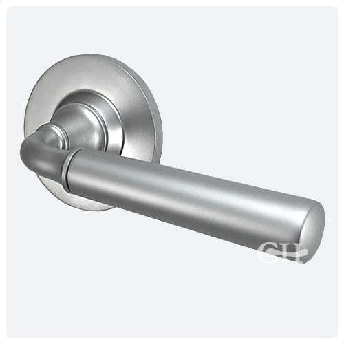 Samuel Heath P6056 Profile Lever Door Handles In Brass