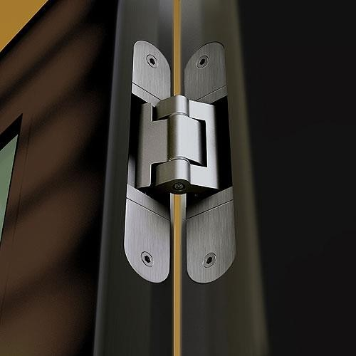 Simonswerk Tectus Concealed Invisible Hinges In Brass