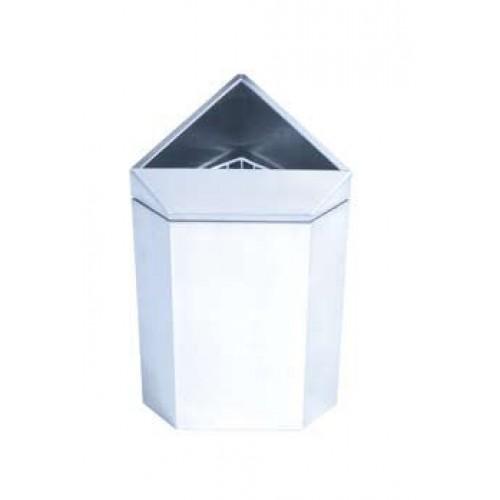 Wall Or Floor Mounted Corner Waste Paper Towel Bins In