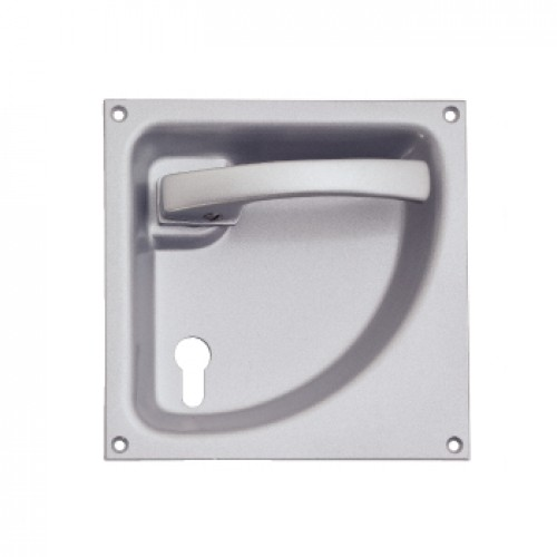 5061 Flush lever Door Handles for Collapsable or Folding Doors in ...