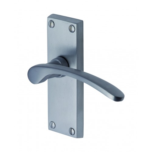 Sophia Door Handles Satin Chrome