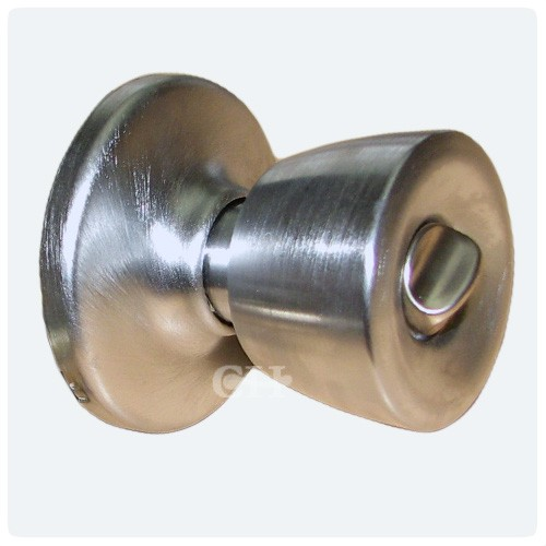 Weiser Beverley Satin Chrome Privacy Knobsets With Latch