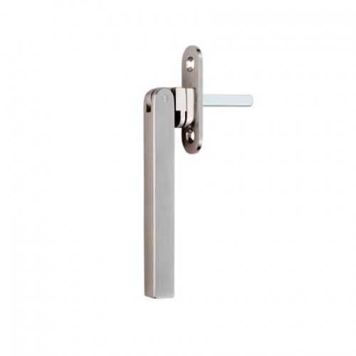 Stainless steel square espagnolette handle door handles for Window handles