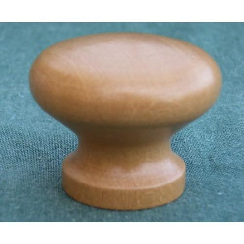 Small Wooden Kitchen Cupboard Door Knobs in Oak Walnut Mahogany and ...