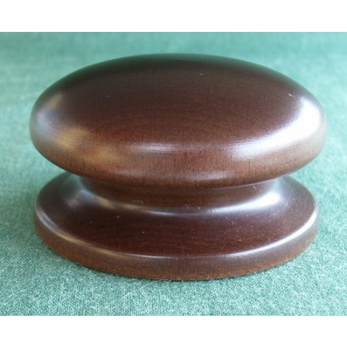 Small Wooden Kitchen Cupboard Door Knobs in Oak Walnut Mahogany and ...