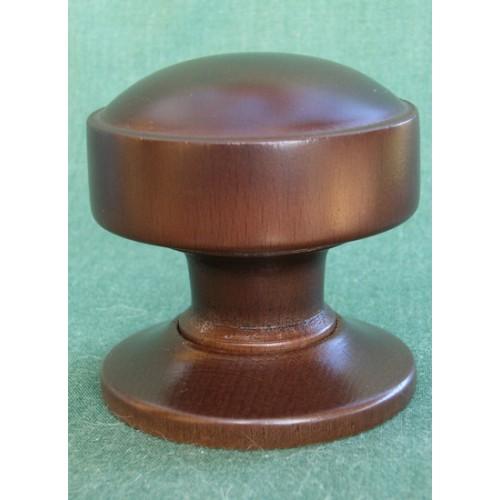 Atholl Wooden Mortice or Rim Door Knobs in Oak Walnut Mahogany and ...