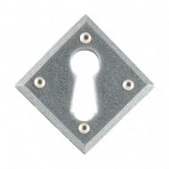 anvil keyhole diamond escutcheon