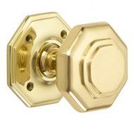 Croft Flat Octagon Door Knob