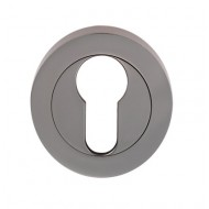 euro profile lock escutcheon polishedchrome