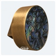Light Antique Brass / Paua